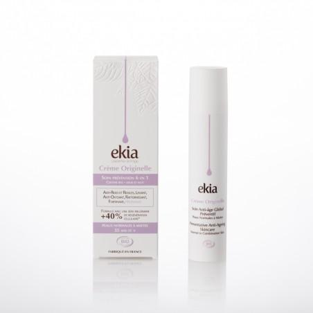 Ekia - Crème Originelle Peaux normales à mixtes - Flacon + étui