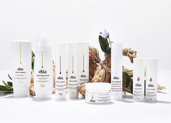 Gamme de produits bio Ekia cosmétiques