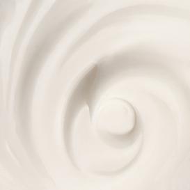 Texture de crème et produit bio